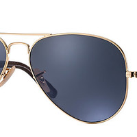Ray-Ban RB3025 183/R5 58-14 AVIATOR CLASSIC Gold sunglasses | Official Online Store US