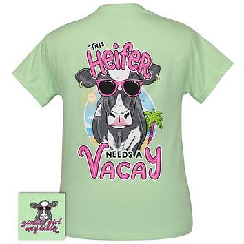 Girlie Girl Originals Preppy Heifer Needs Vacay T-Shirt