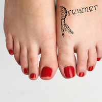 Daydreaming - Temporary Tattoo (Set of 2)