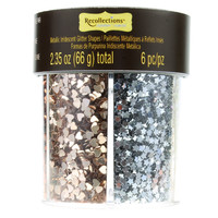 Signature Glitter Caddy, Metallic Shapes By Recollections™