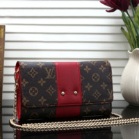 Louis Vuitton Women Leather Fashion Handbag Tote Crossbody