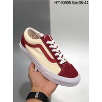 Vans Vault OG styile 36 Retro cheap fashion Mens and womens sports shoes
