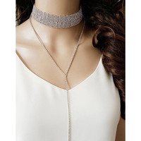 Iza Chain Drop Choker