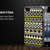 aztec black yellow white ,Iphone 5 case,iphone 4,4S,samsung galaxy s2,s3,s4 cases, accesories case,cell phone