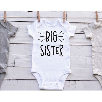Big Sister Shirt | Bodysuit