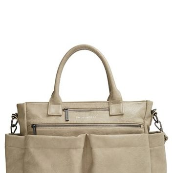 Infant Girl's The Honest Company 'Everything' Faux Leather Diaper Bag