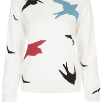 **Birds Sweater By J.W. Anderson for Topshop - Sweaters - Knitwear - Clothing - Topshop USA