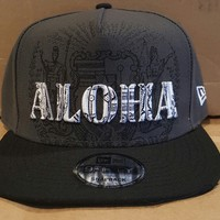 "Local Motion ""Seal of Aloha"" Black SnapBack Hat"