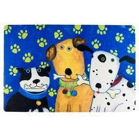ONETOW Quirky Dogs Welcome Mat