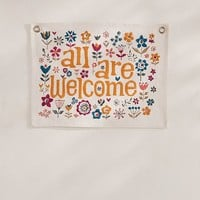 All Are Welcome Tapestry | Urban Outfitters
