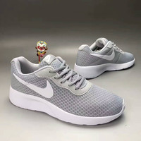 """""""NIKE"""" Fashion Casual Stitching Breathable Net Unisex Ultra-light Sneakers Couple Running Shoes"""