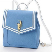 Japanese Anime Sailor Moon Denim Designer Backpack