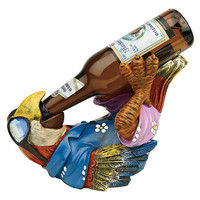 Park Avenue Collection Beer Buddy Tiki Parrot Statue