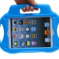 Xodo Kids Series Light Weight Super Protection Cover Case for Apple iPad for Kids Friendly + Free Gift 1 x Stylus Pen (iPad Mini, Blue)