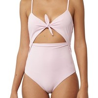 Mara Hoffman Kia Cutout One-Piece Swimsuit | Nordstrom