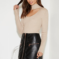Honey Punch Faux Leather Lace-Up Mini Skirt at PacSun.com