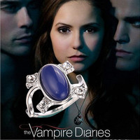 Free Shipping Hot Sell The Vampire Diaries Elena Gilbert Ring Prevent Sunshine Cat Eye Vintage Rings For Women Jewelry