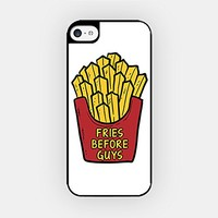 for iPhone 6/6S Plus - High Quality TPU Plastic Case - Fries Before Guys - French Fries - Food Lover - Hipster
