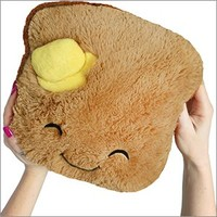 Squishable / Mini Comfort Food Toast Plush - 7""