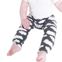 Baby Boys Girls cloud Harem Pants Toddler Kids Sweat Pants Joggers Elastic Bottoms Baby Clothing