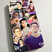 Dylan Obrien - Print on Hardplastic for iPhone 4/4s and 5 case, Samsung Galaxy S3/S4 case.