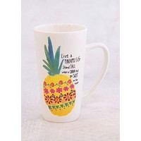 Pineapple Life Latte Mug