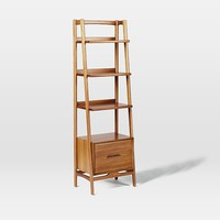 Mid-Century Bookshelf - Narrow Tower
