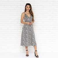 Staying Together Print Dress