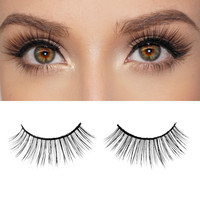 Milanté BEAUTY Exquisite Real Mink False Lashes Black Natural Thick Long Full Reusable Fake Strip Eyelashes