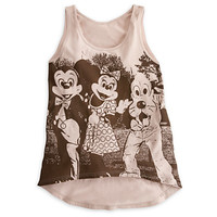 Mickey Mouse and Friends Tank Tee for Women - Disney Parks   Disney Store