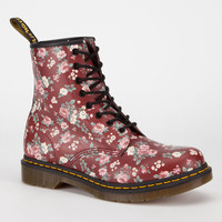 Dr. Martens 1460 Womens Boots Cherry Red Rouge  In Sizes