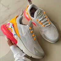 Nike Air Max 270 Print Flower Sneakers Sport Shoes