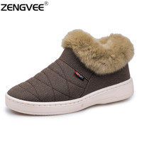 Home Slippers Women Men Unisex 2016 Winter Fur Warm Indoor Slippers Shoes Brand Casual Lovers Shoes Winter Home Shoes