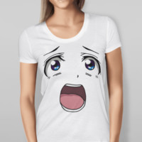 Anime Shocked Face Tee