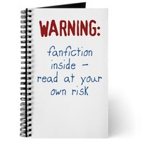 Warning: Fanfiction Inside Journal by robothearted