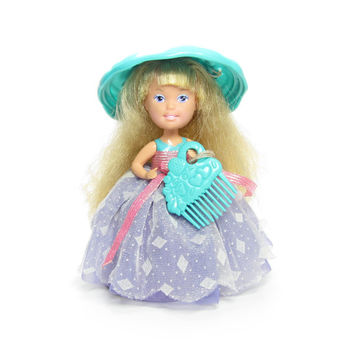 Cupcakes Doll Bon Bon Candy Sprinkles Vintage Tonka Doll with Frosting Hat & Comb