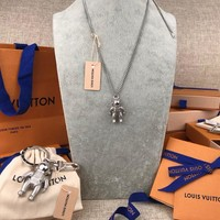 Louis Vuitton Lv Mp2222 Astronaut Necklace
