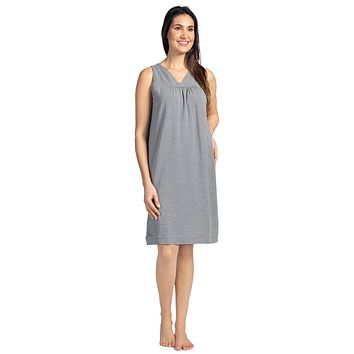 Women's Sleeveless EcoFabric™ Nightgown - Relaxed Fit