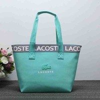 Lacoste Stylish Women Satchel Single Shoulder Bag Handbag Mint Green I-XS-PJ-BB