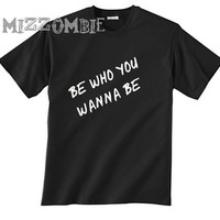 PRIDE SHIRT unisex crew neck. Be who you wanna be.