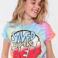 Saved By The Bell Tie-Dye Tee | Urban Outfitters