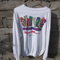 Mens Sweatshirt sz X Large Senor Frogs Womens Sweatshirt 80s 90s