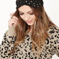 With Love From CA Gold Foil Dot Headscarf at PacSun.com