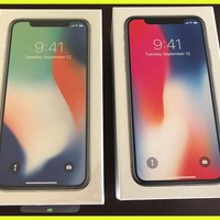 NEW Apple iPhone X - Space Gray - 256 GB - Factory Unlocked (CDMA + GSM) A1865