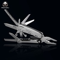 ROXON S801 outdoor multi tool 16 in 1 tactical pliers screwdrive camping survival equipment edc pocket  tool self defense weapon
