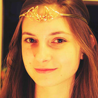 Celtic Moon Circlet by BronzeSmith on Etsy