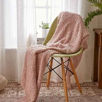 Loopy Knit Throw Blanket