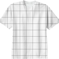 Grid tee created by A PAOM Designer | Print All Over Me