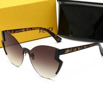 FENDI Hot Sale Fashion Woman Men Summer Sun Shades Eyeglasses Glasses Sunglasses