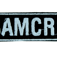 SAMCRO Sons of Anarchy Motorcycle Club Redwood Original Patch Iron on Applique Clothing
